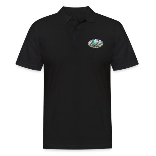 Across the Tracks Blur - Men's Polo Shirt