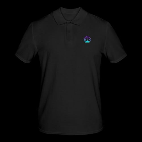 'A' Design Blue Edition - Men's Polo Shirt