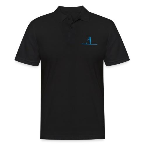 Stand-up Sihlouette - Männer Poloshirt