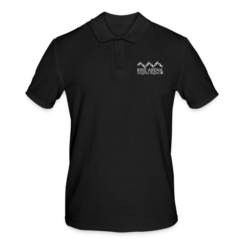 Bike Arena White - Männer Poloshirt