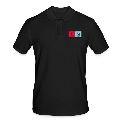 Geeky Fat Periodic Elements - Men's Polo Shirt