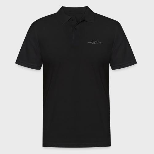 iSauf-Schriftzug - Männer Poloshirt