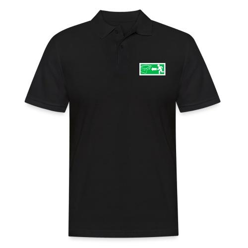"""Billard Shirt """"Notausgang Billard"""" - Pool Billard - Männer Poloshirt"""