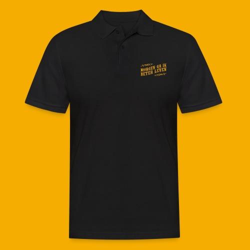 tshirt yllw 01 - Mannen poloshirt