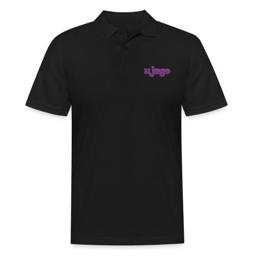 ujago lila - Männer Poloshirt