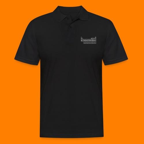 periodic white - Men's Polo Shirt