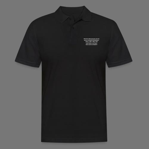 Facebook-AGB - Männer - Männer Poloshirt