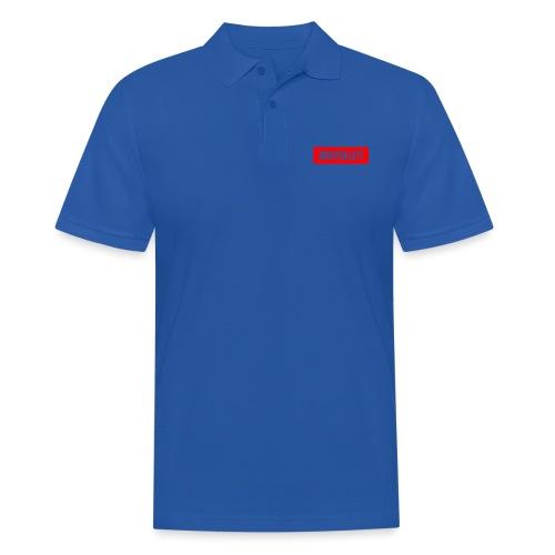 Josef Sillett Red - Men's Polo Shirt