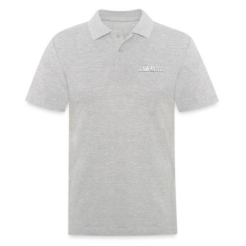 UNWANTED Logo Tee White - Men's Polo Shirt