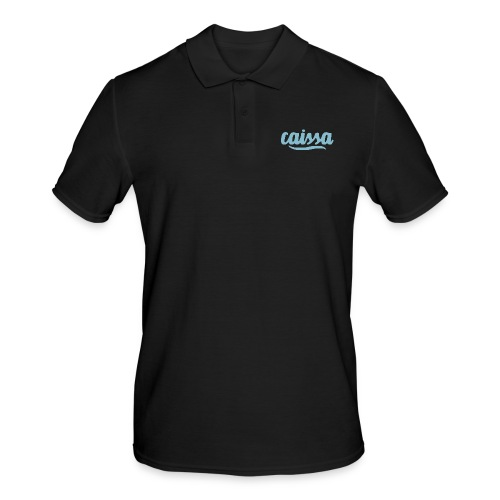 caissa logo - Männer Poloshirt