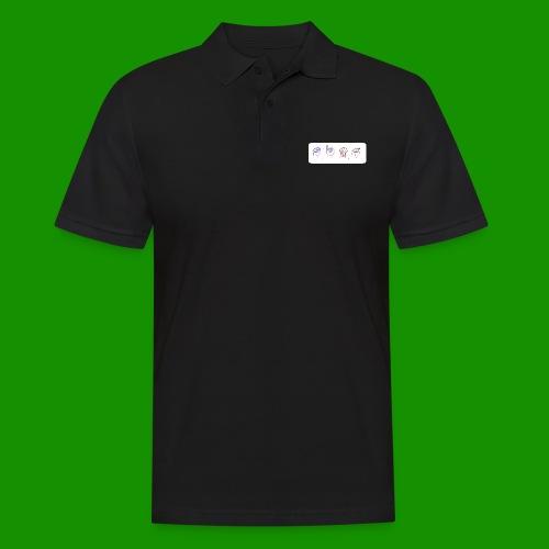 Sina Fingersprache - Männer Poloshirt