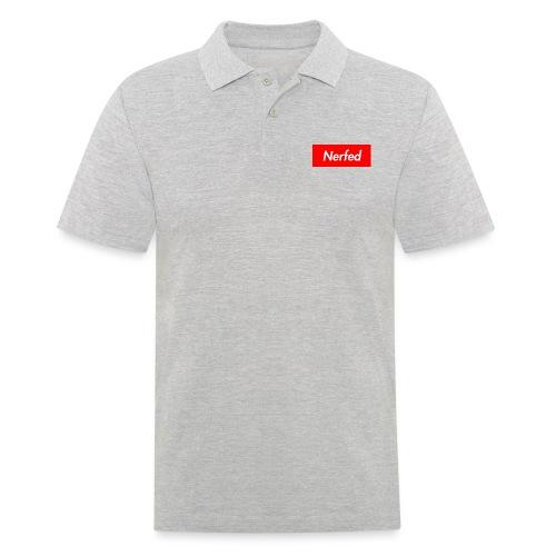 Nerfed Box Logo - Men's Polo Shirt