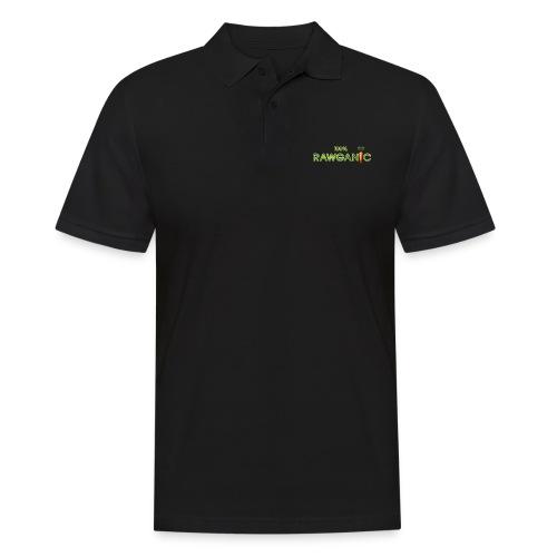 100% Rawganic Rohkost Möhre - Männer Poloshirt