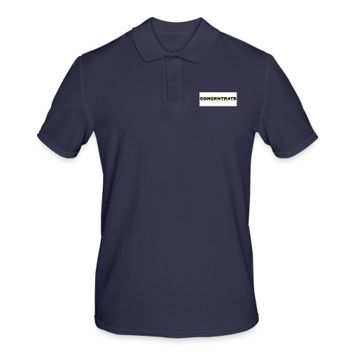 Concentrate on white - Men's Polo Shirt