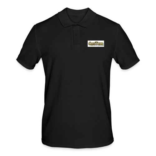 CusTom GOLD LIMETED EDITION - Mannen poloshirt