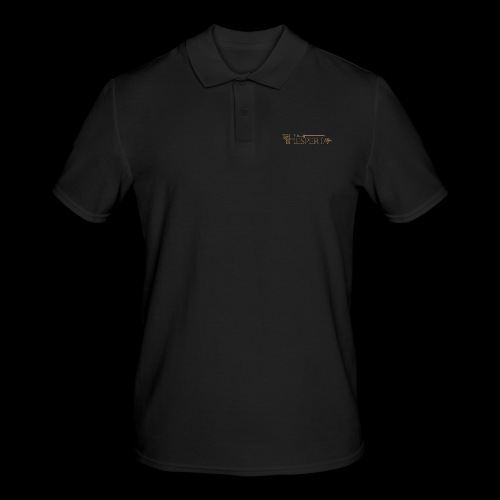 LOGO COPERTINA1 png - Men's Polo Shirt