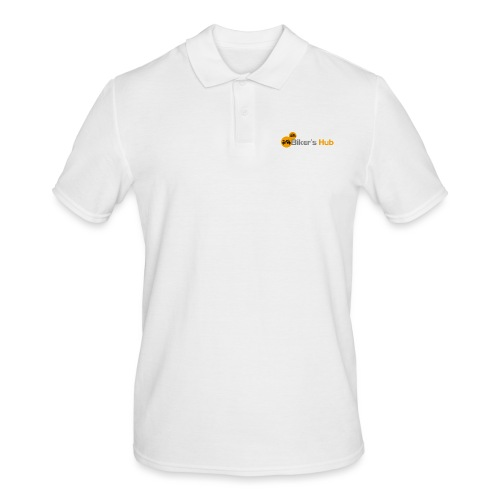 Biker's Hub Small Logo - Men's Polo Shirt