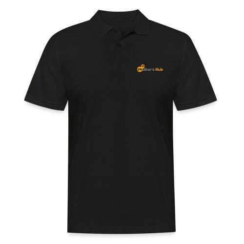 Biker's Hub Small Logo - Men's Polo Shirt