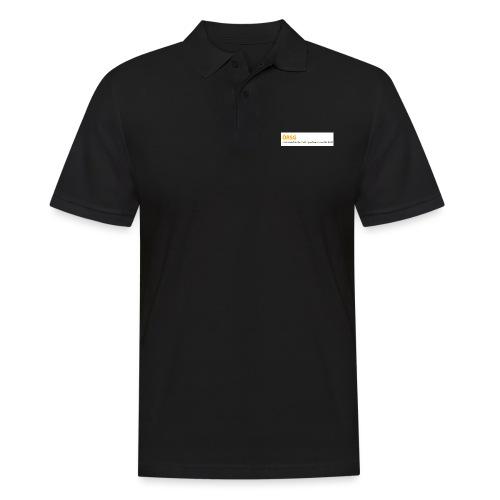 Text-Logo der ÖRSG - Rett Syndrom Österreich - Männer Poloshirt