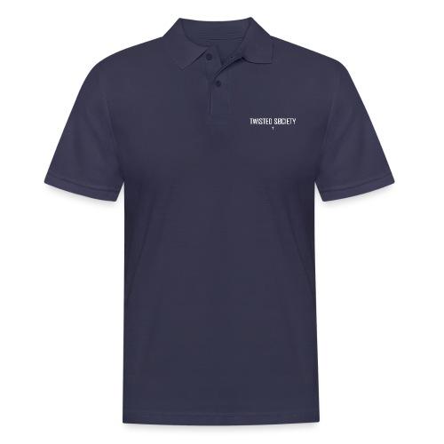 Logo white - Men's Polo Shirt
