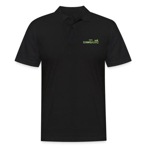 100% Rawganic Rohkost Blättchen - Männer Poloshirt
