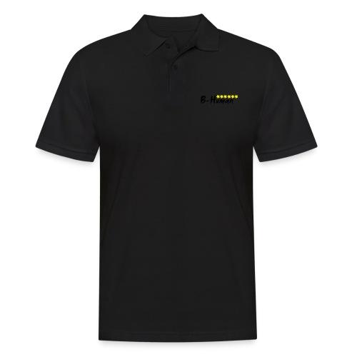 B-Human Six Stars Yellow - Männer Poloshirt