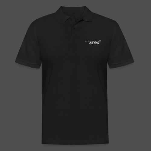 ride green - Men's Polo Shirt