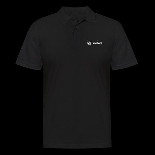 madabe instagram weiss - Männer Poloshirt