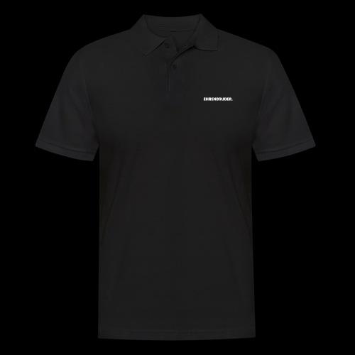 EHRENBRUDER-White - Männer Poloshirt