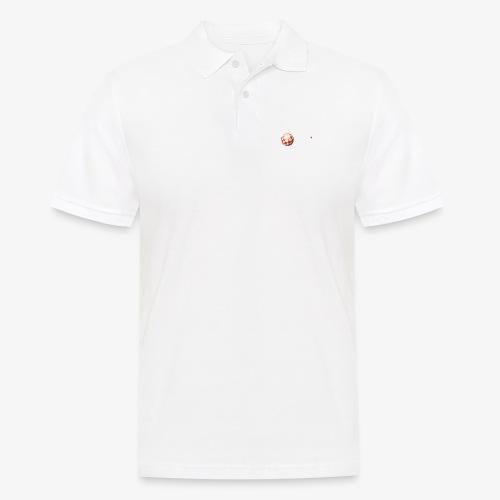 PoweredByAmigaOS white - Men's Polo Shirt