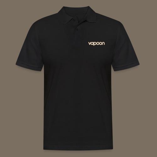 Vapoon Logo simpel 2 Farb - Männer Poloshirt