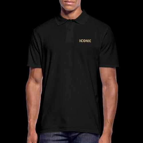ICONIC [Cyber Glam Collection] - Men's Polo Shirt