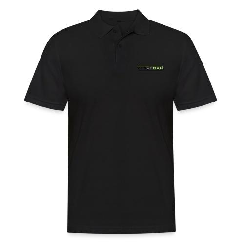 YESVEGAN - Männer Poloshirt