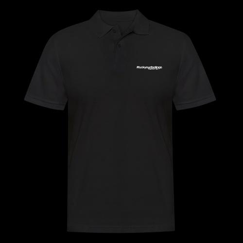 Trigger Warning Motto! - Men's Polo Shirt
