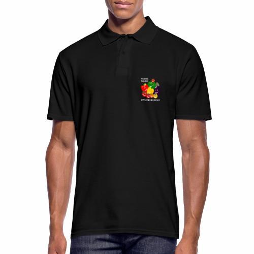 Veggie Family - Cheese! - Men's Polo Shirt
