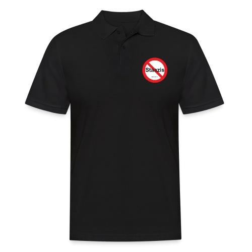 Staazis Verboten - Männer Poloshirt