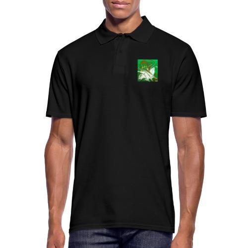 TIAN GREEN Mosaik CG002 - quaKI - Männer Poloshirt