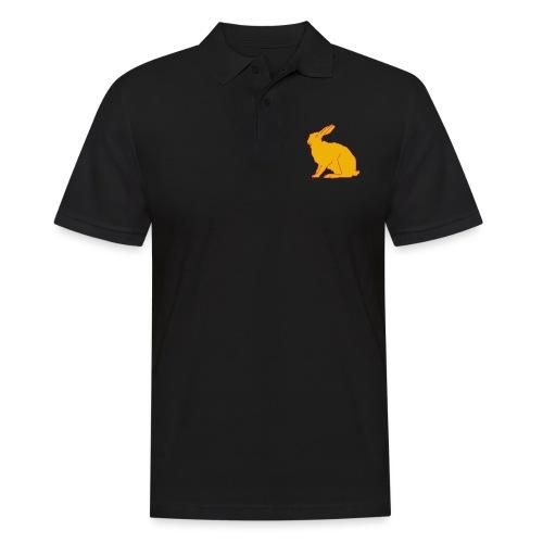 Gelber Hase - Männer Poloshirt