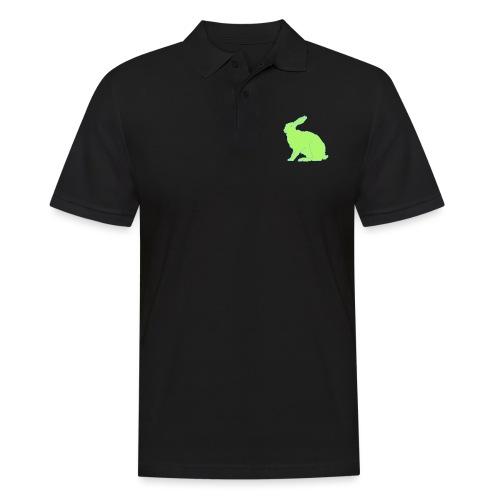 Grüner Hase - Männer Poloshirt