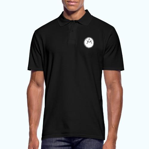 Mystic motif with sun and circle geometric - Men's Polo Shirt