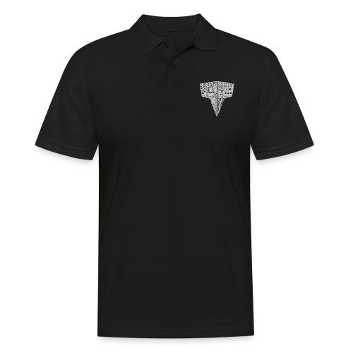 Word Logo // Kaskobi - Men's Polo Shirt