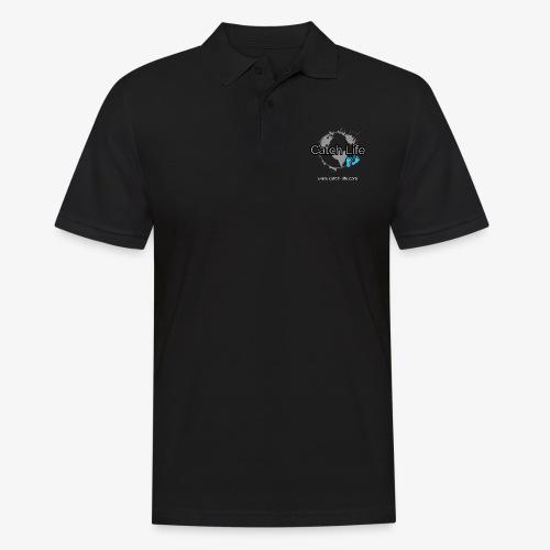 Catch Life Black - Men's Polo Shirt