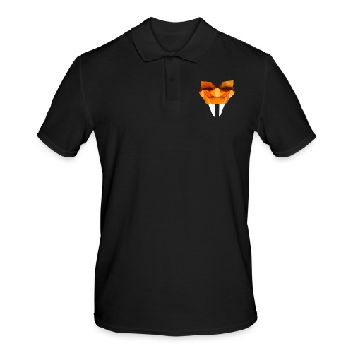 Origami Saber Toothed Tiger Mask - Origami Tiger - Men's Polo Shirt