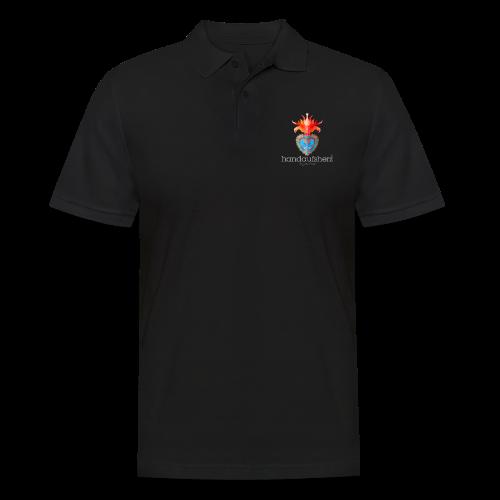 Hand aufs Herz - Männer Poloshirt