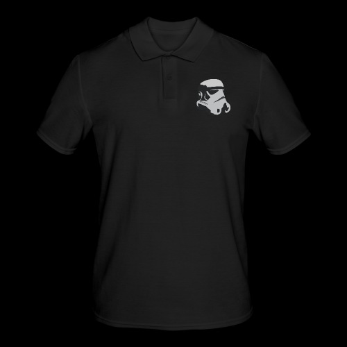 Stormtrooper Helmet - Men's Polo Shirt