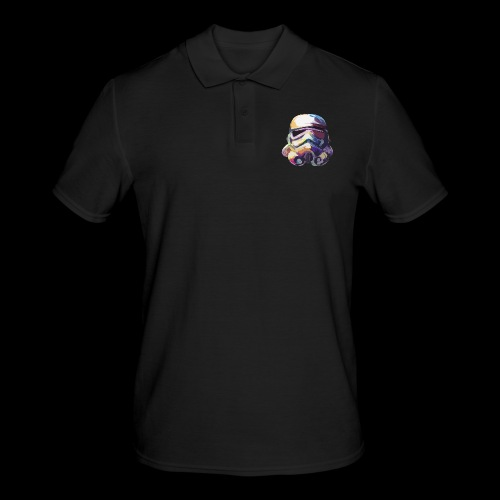 Stormtrooper with Hope - Men's Polo Shirt