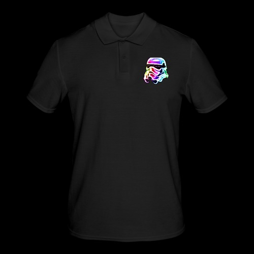 Rainbow Stormtrooper - Men's Polo Shirt