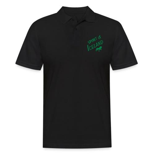 4gaits ruecken - Männer Poloshirt