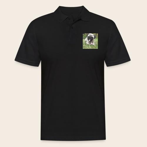 Mops Wiese - Männer Poloshirt