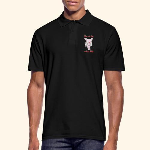 Zwergschlammelfen - Für mehr Liebe auf der Welt - Männer Poloshirt